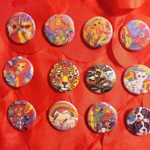 Lisa Frank Button Collection #2 - 15 Buttons